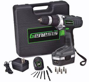 Genesis GCD18BK Drill